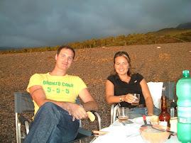 Cena in spiaggia con i nostri piccioncini agosto 2006