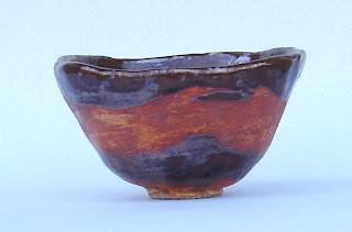 orange-shino-and-temmoku-chawan-or-tea-bowl
