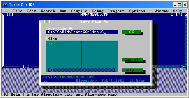 Install Turbo C Version 3 0 How To Compile And Run C