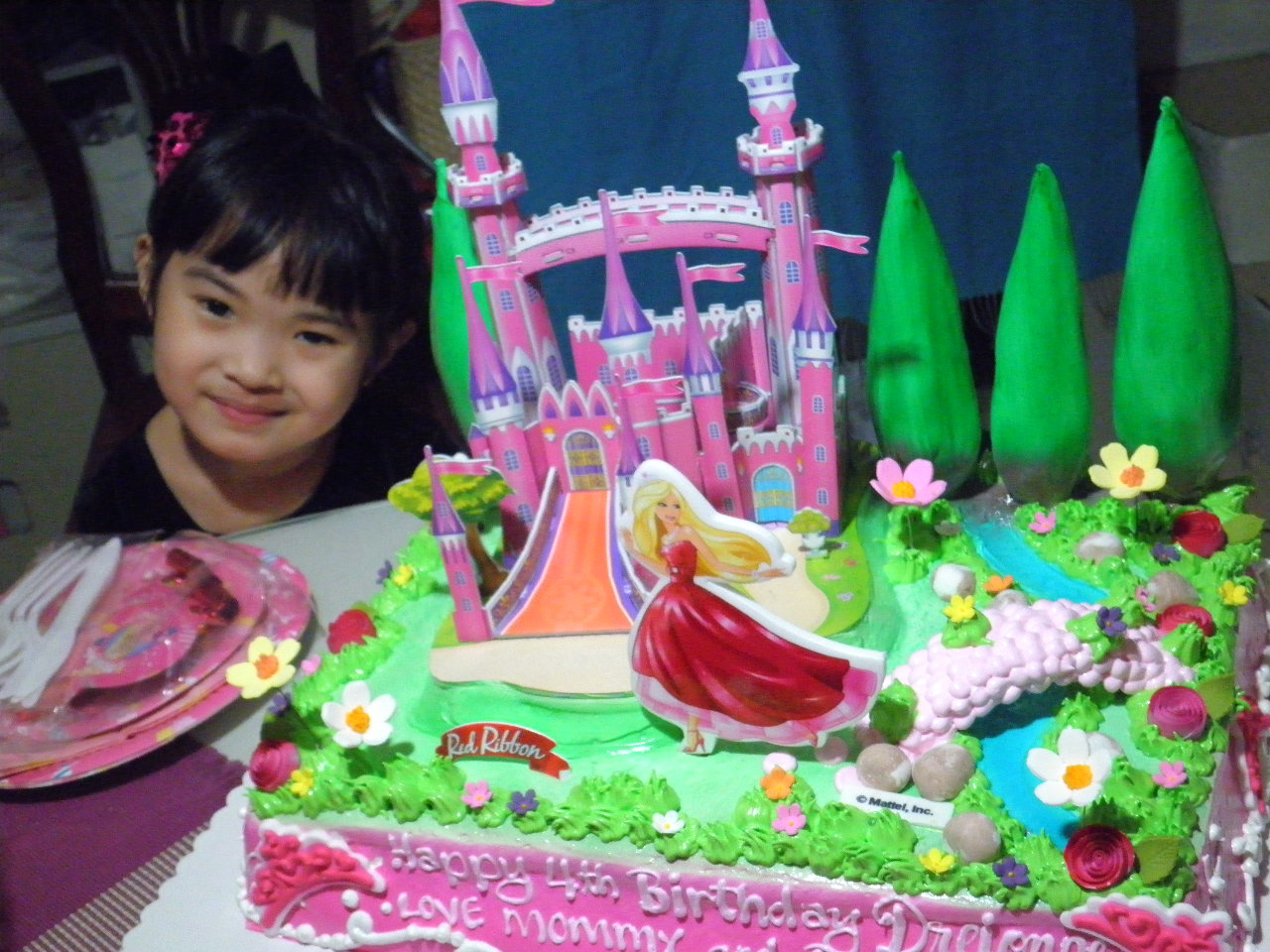 Barbie Castle Cake Images : Palace Pet Birthday Party Supplies Party Invitations Ideas