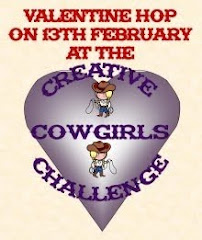 CREATIVE COWGIRLS VALENTINE/LOVE HOP