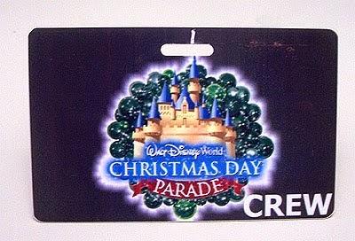 Disney Nametags and More: The Walt Disney World Christmas Day Parade
