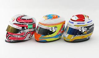 Cascos para el mod rFactor F1 WCP 2009