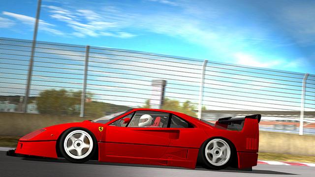 Ferrari F40 ILMS para rFactor
