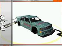 mod rFactor con el  Mercedes 190 E 2.5-16 Evolution II