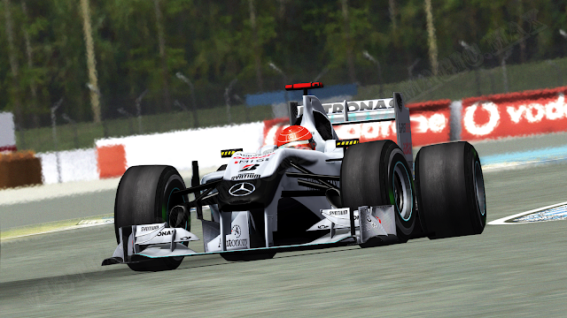 F1 WCP 2010 Mercedes W01 para rFactor