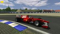 Ferrari F1 2010 preview rFactor FSone
