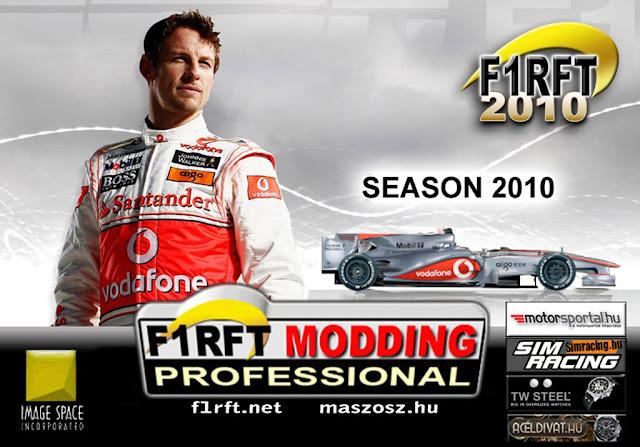 Pantalla inicio F1 RFT 2010 para rFactor