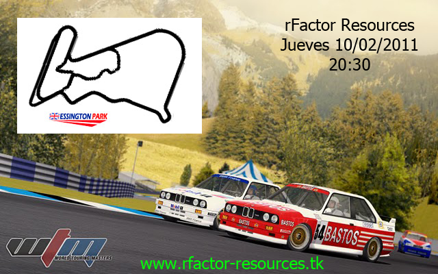 rFactor Mod World Touring Masters Evento