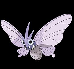 venomoth, pokemon, anime, animais, monstros