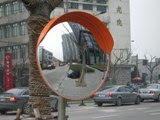 Convex indoor and outdoor mirrors