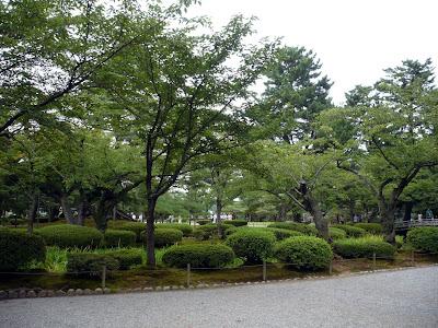 Kenrokuen faimoasa gradina din Japonia