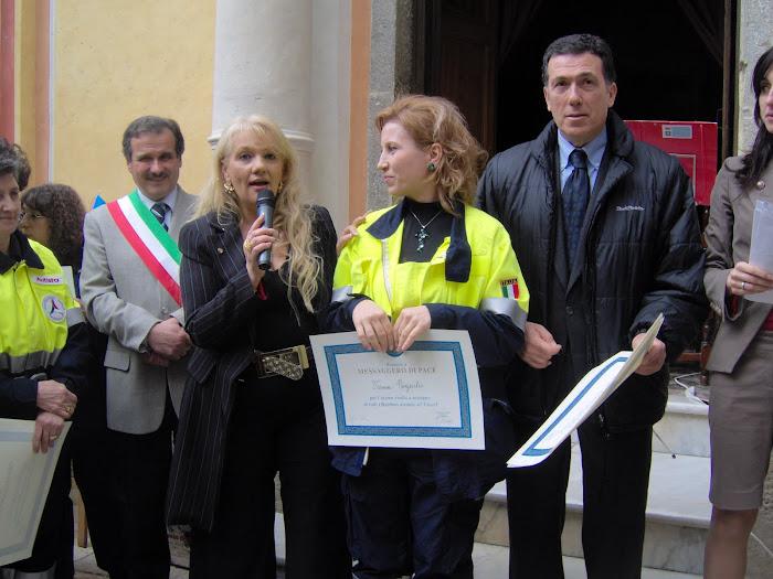 """NOMINA- """"MESSAGERO DI PACE NEL MONDO"""""""