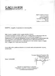Il Regista Valeriu Jereghi e stato invitato in Italia