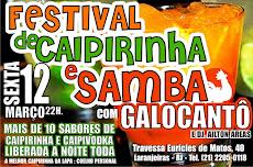 Primeiro Festival de Caipirinhas e Samba