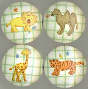 Zoo Animal Knobs