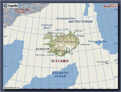 Expedia Iceland Map