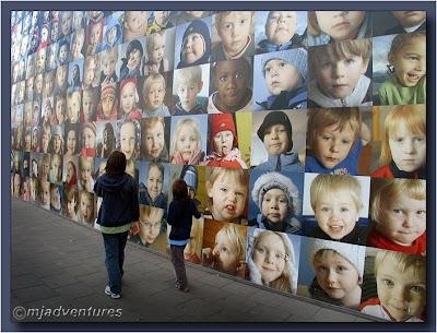 Reykjavik Childrens' Image Wall