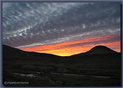 Hesteyrarfjörður_Sunset02