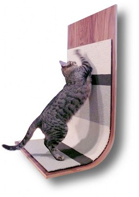 Brilian Moderncritter Scratcher for Your Lovely Cat