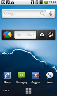 Google Buzz klijent za Android mobilne telefone