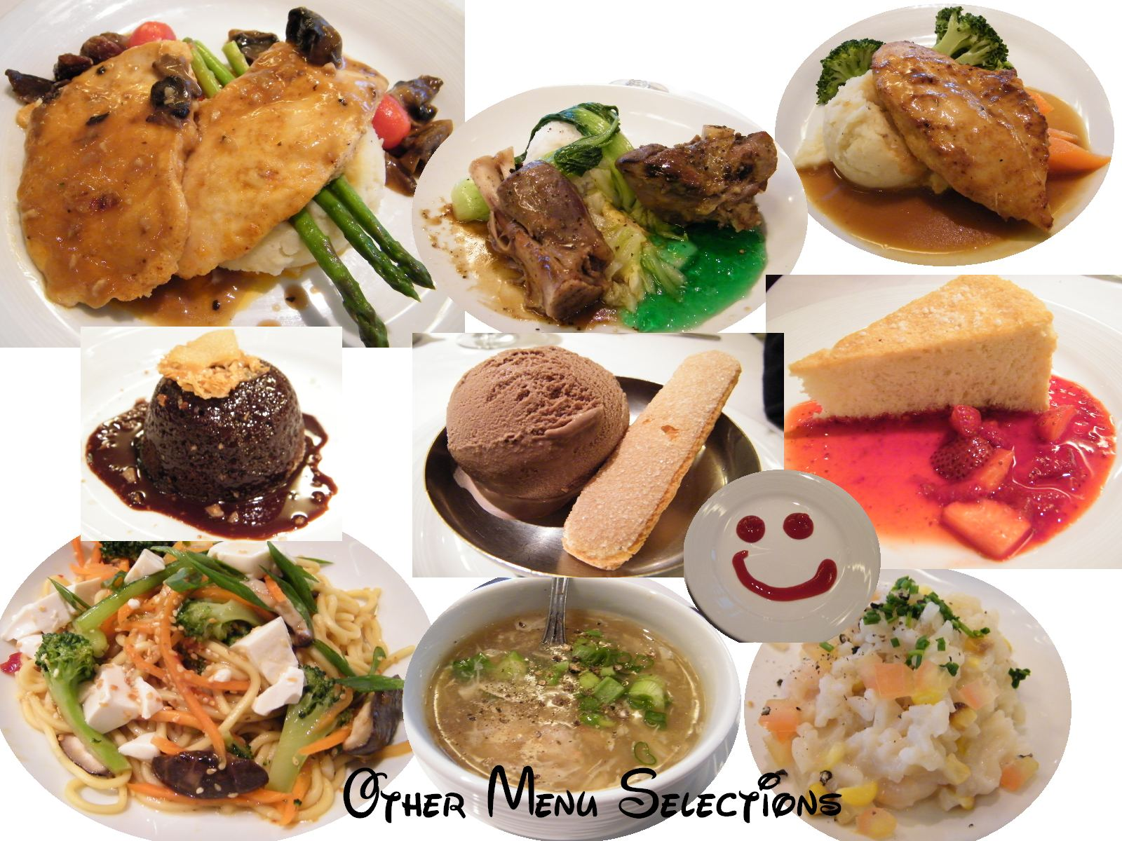 Traditional japanese wedding foods - Other Selection Include Chicken Breast With Herbs Northern Lamb Shanks Chicken Marsala Scallop Salad Warm Chocolate Cake Angel Cake And Chocolate Ice
