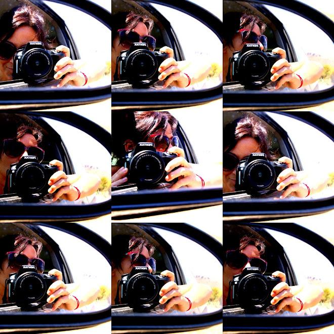 autorretratos desde el coche