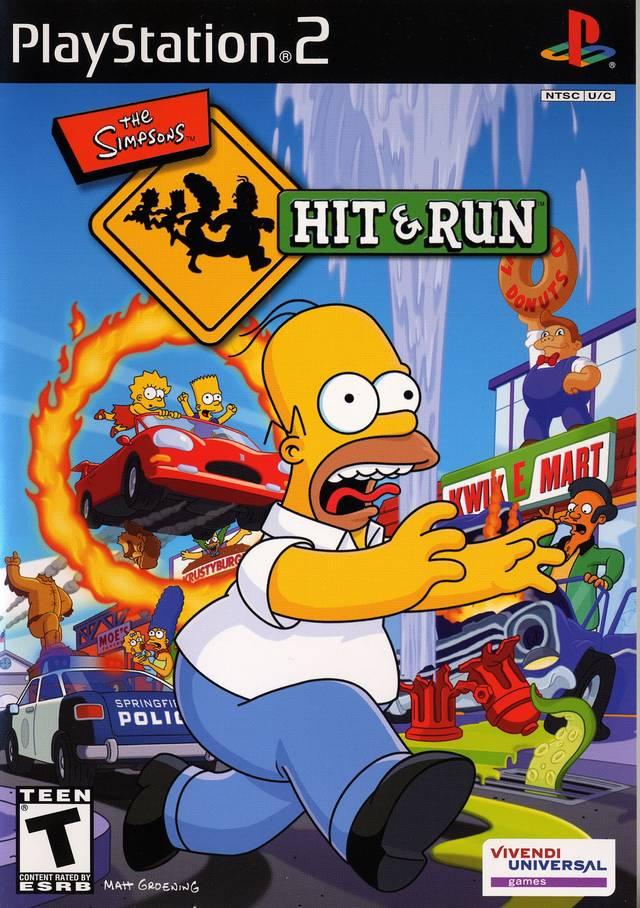The Simpsons: Hit & Run ? PS2