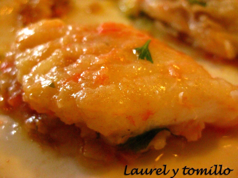 Laurel y tomillo raya a la pesquer a gallega for Cocinar raya a la gallega