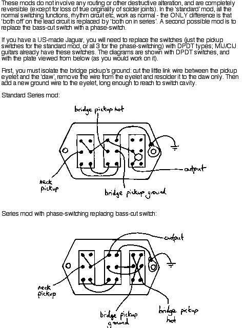 JagSeriesMod noob needing advice on jag build fender jaguar jazzmaster fender cyclone wiring diagram at mifinder.co