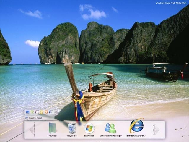 tema para windows xp tema windows 7