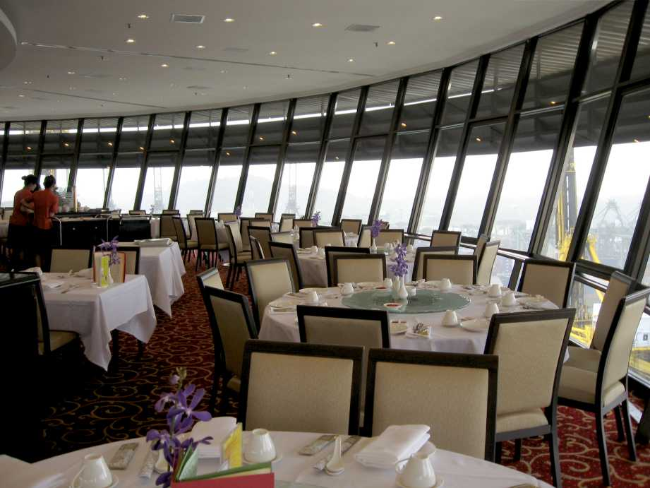 LIFE FOOTSTEPS Prima Tower Revolving Restaurant