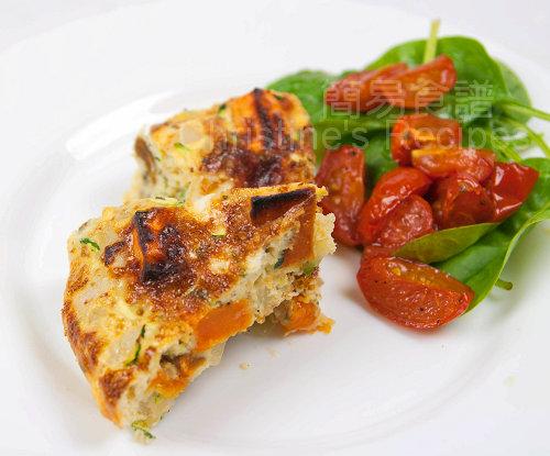 意式焗蛋餅 Zucchini & Sweet Potato Frittata02