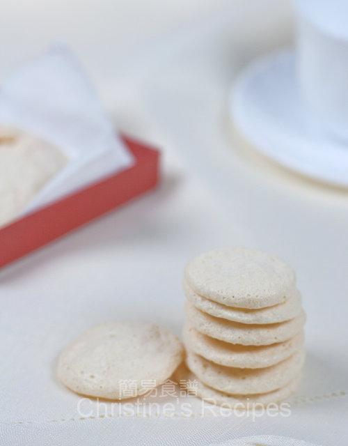 杏仁蛋白餅 Almond Meringue01