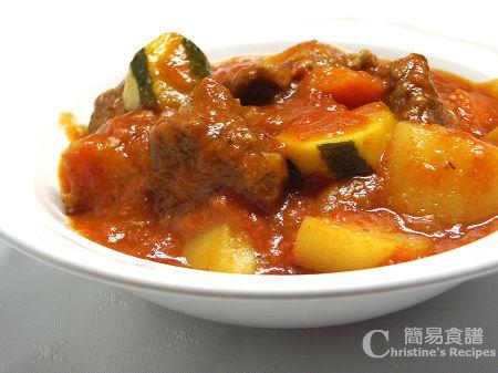 茄汁燴牛肉 Beef Stew