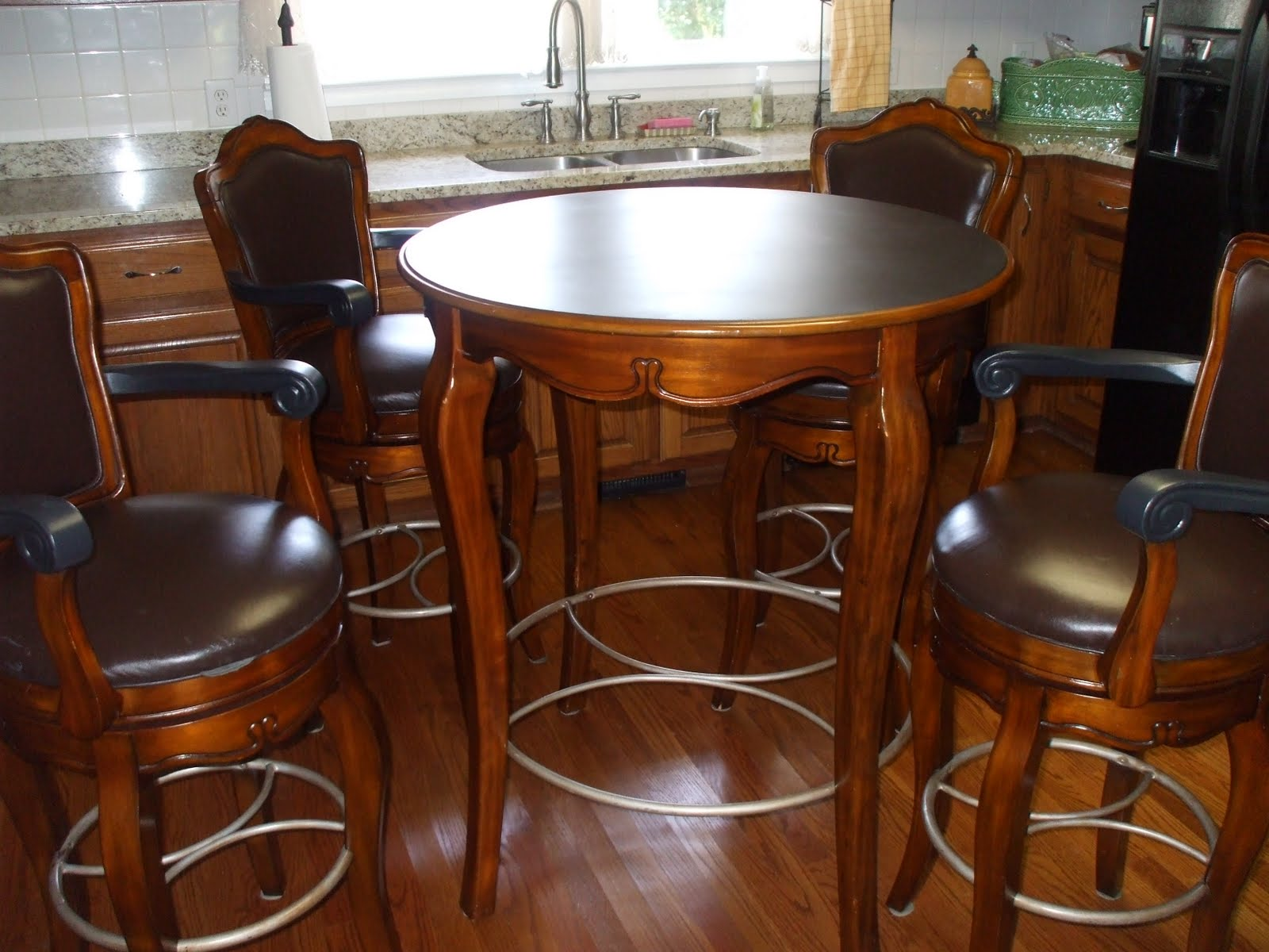 Slightly used Bistro table and