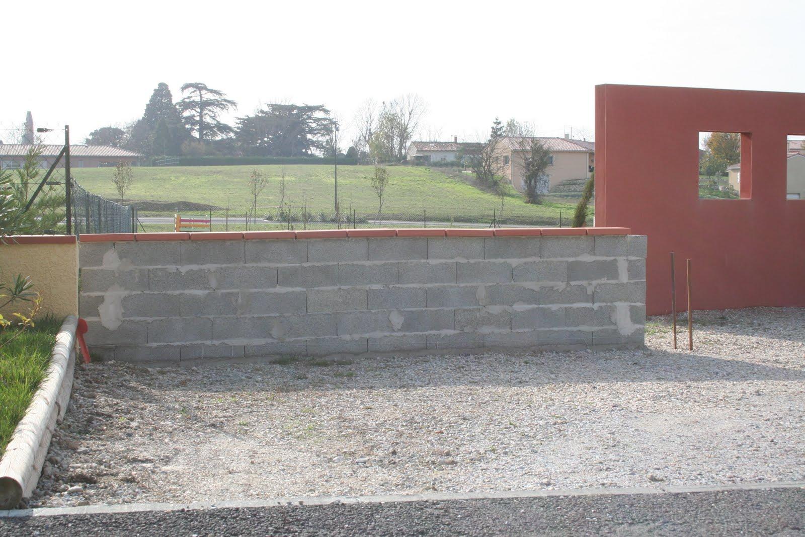 Pin mur de cloture et pavage on pinterest - Mur de cloture ...