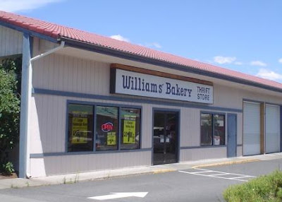 Williams bakery thrift store bend oregon bend oregon for Fish thrift store