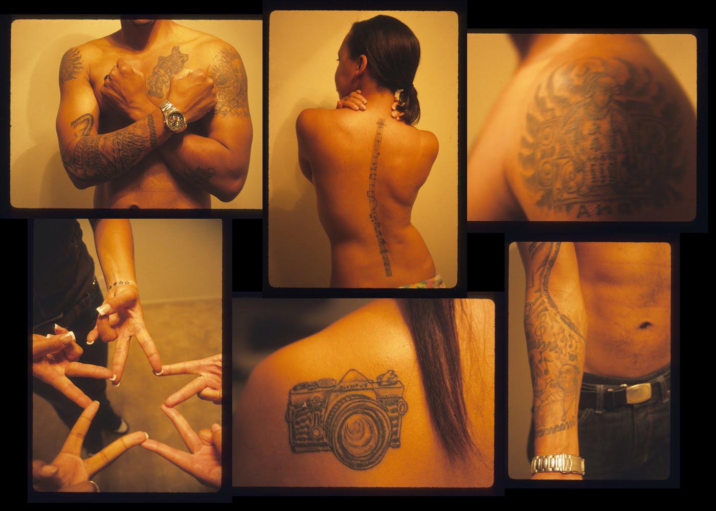Ashanti tattoos