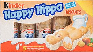 Kinder Happy Hippo , Kinder Happy Hippos , Ferrero Spa