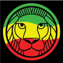 Con el león!!!