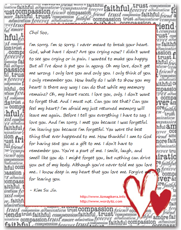 Love Letters For Him From The Heart | quotes.lol-rofl.com