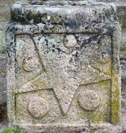 Detalle del gótico isabelino en las Cruces de Santiago (Aldeadávila)