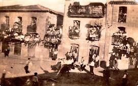 Fiestas del Toro de Aldeadávila, 1940