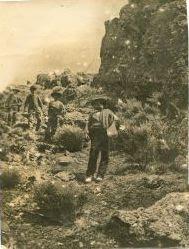 """El inicio de SALTOS DEL DUERO, 1903 en """"El Cuerno"""", ALDEADÁVILA (Salamanca). Fuente: Oficina de Tur"""