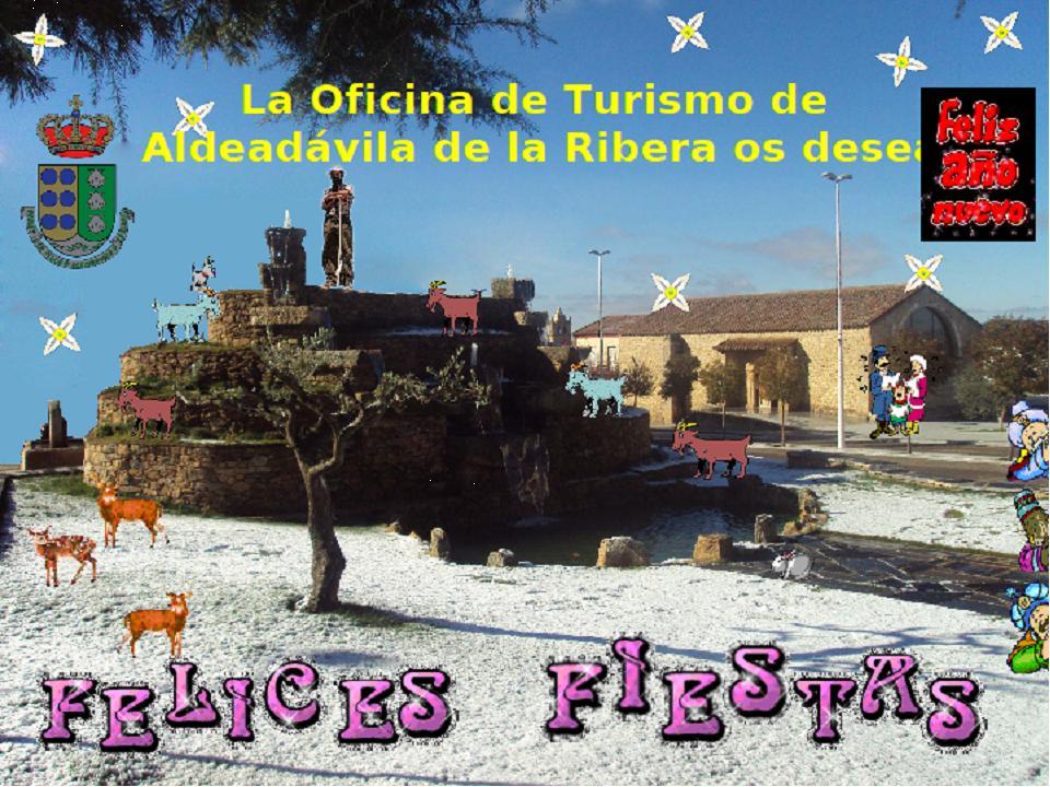 Turismo y cultura en las arribes del duero felices fiestas de navidad 2010 desde las arribes - Oficina de turismo en salamanca ...