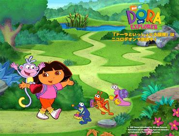 #9 Dora The Explorer Wallpaper