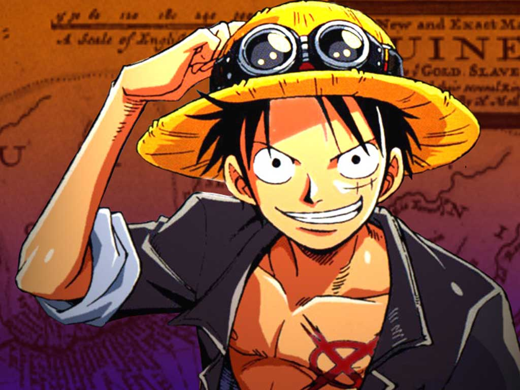 Top Cartoon Wallpapers: Monkey D Luffy One Piece Wallpapers