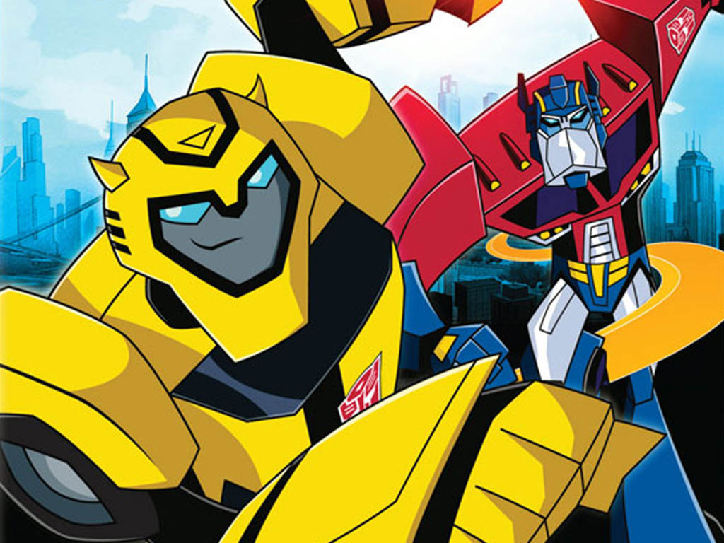 Top Cartoon Wallpapers: Transformers Bumblebee Wallpaper