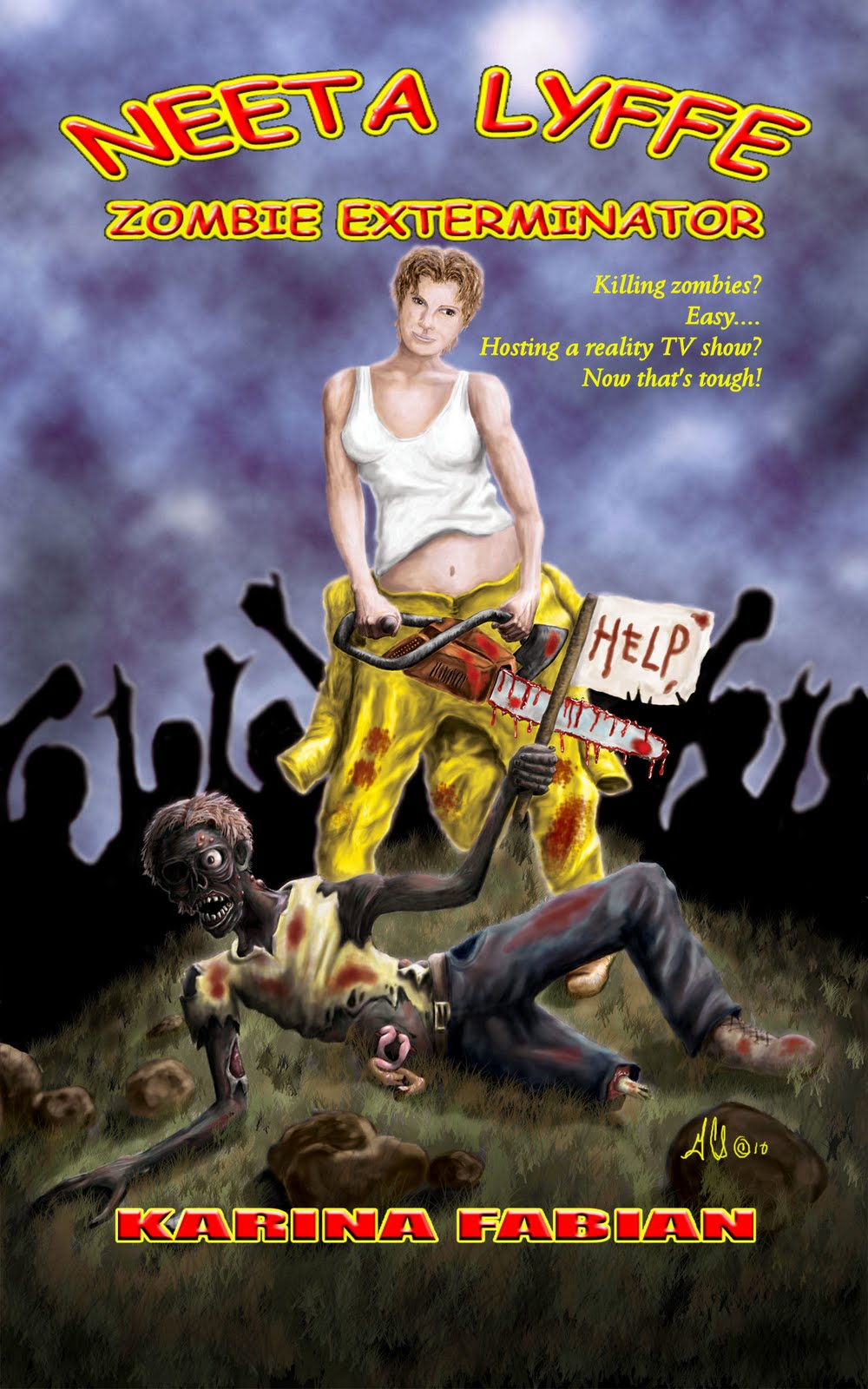 fabianspace neeta lyffe zombie exterminator book tour